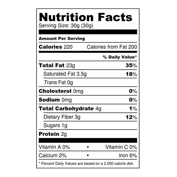 Organic Raw Macadamia Nuts Macaw Foods